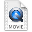 Иконка формата файла mov